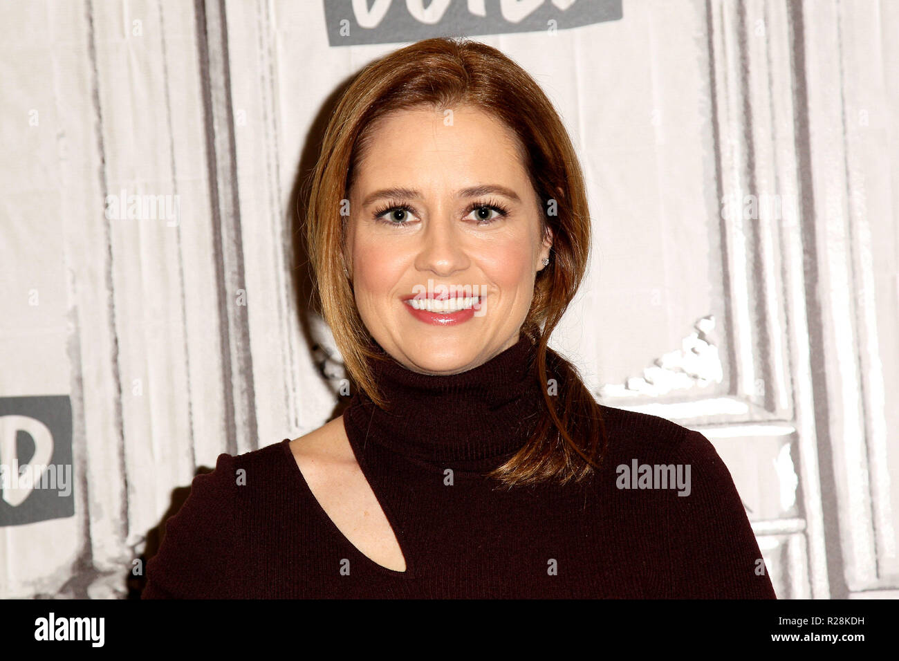 NEW YORK, NY - NOVEMBER 14: Build presents Jenna Fischer discussing