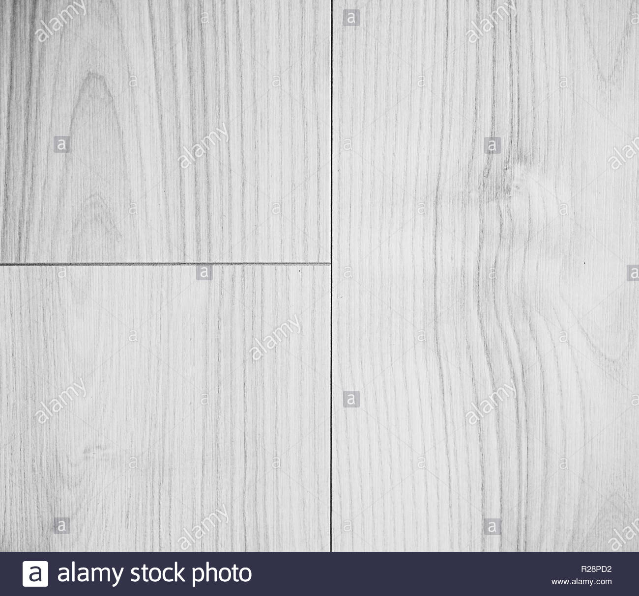 white wooden texture background - Stock Image