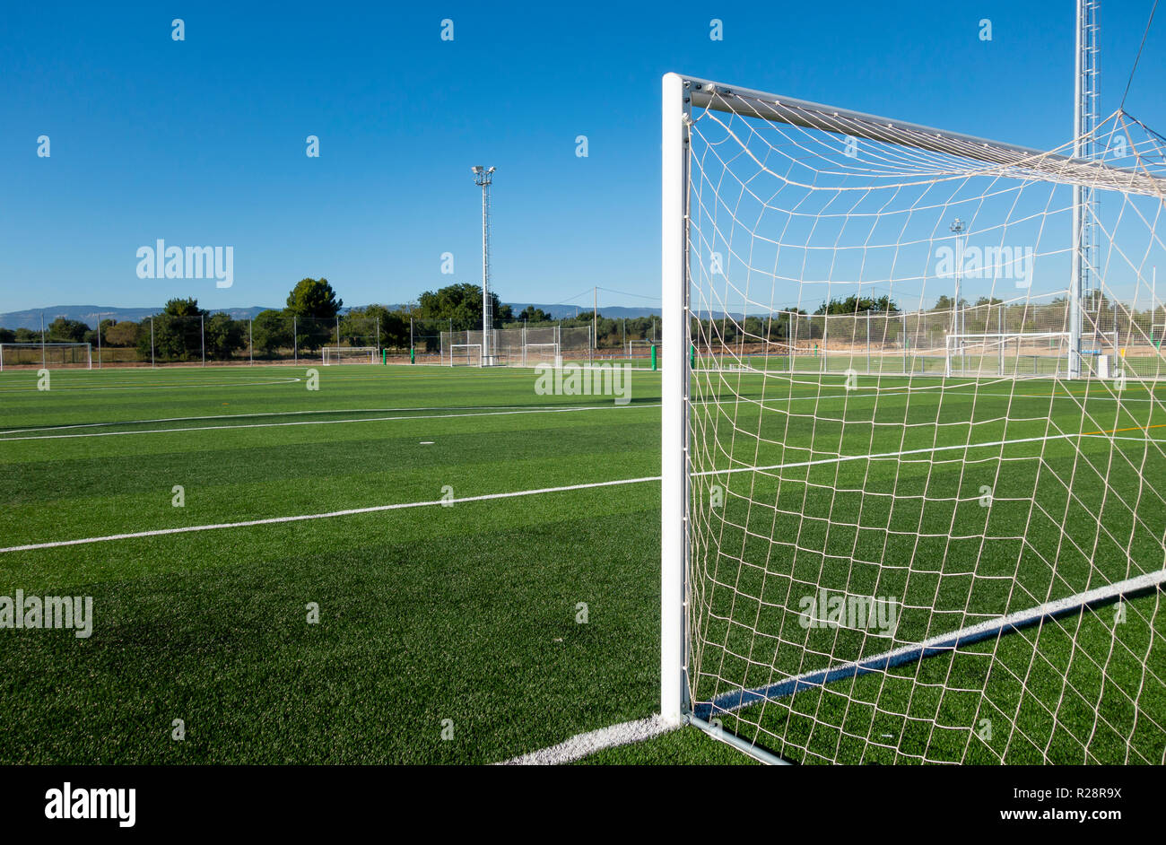 b8ae6df0d Soccer Field Big Stock Photos & Soccer Field Big Stock Images - Alamy