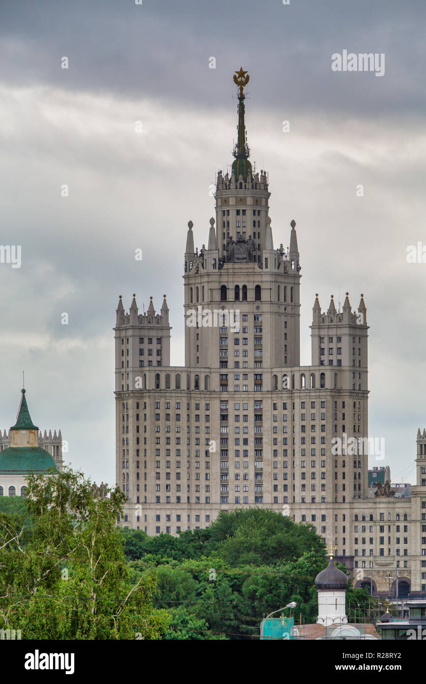 High-rises in Moscow. Russia - Stock Image