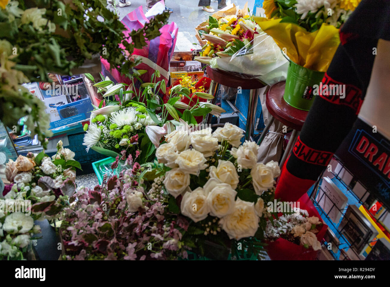 RIP Sisto Malaspina victim of alleged terrorist attack - Stock Image