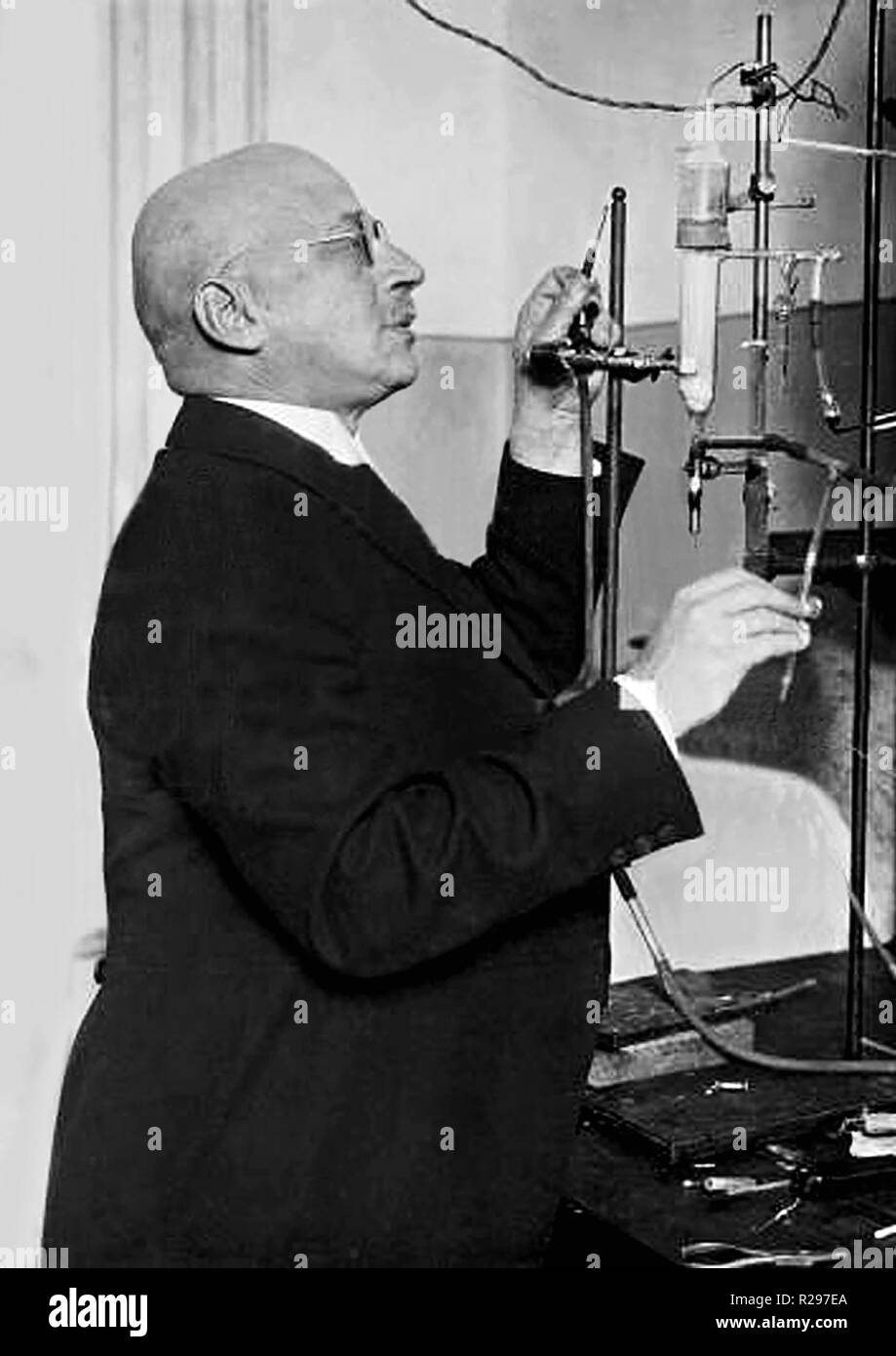FRITZ HABER (1868-1934) German chemist - Stock Image