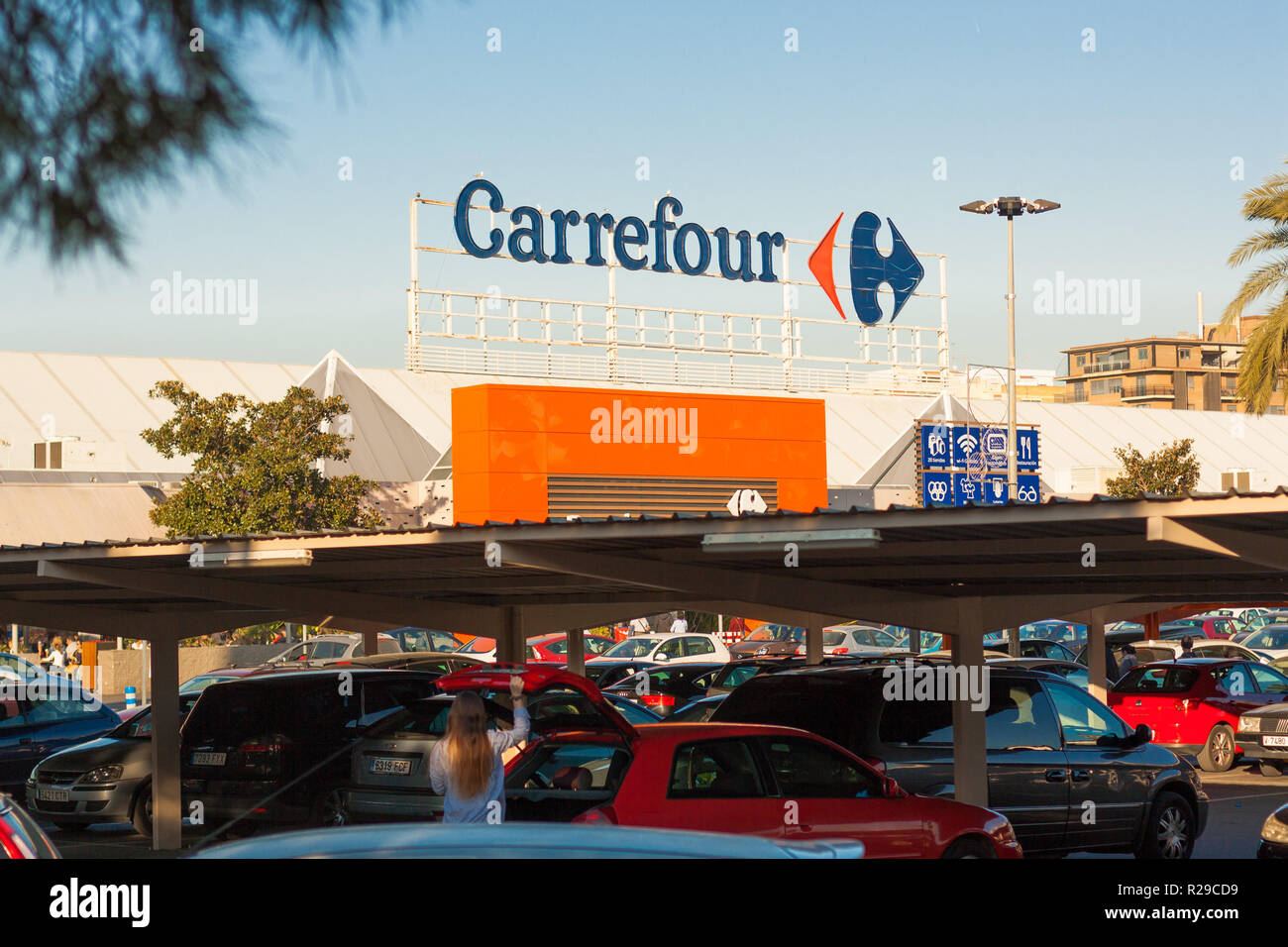 Carrefour Spain Stock Photos Carrefour Spain Stock Images Alamy