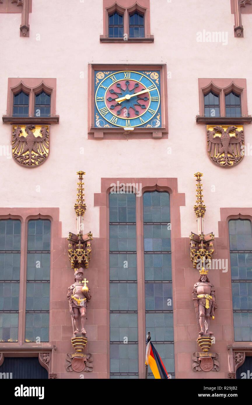 Romer (Town Hall), Frankfurt, Hesse, Germany Stock Photo