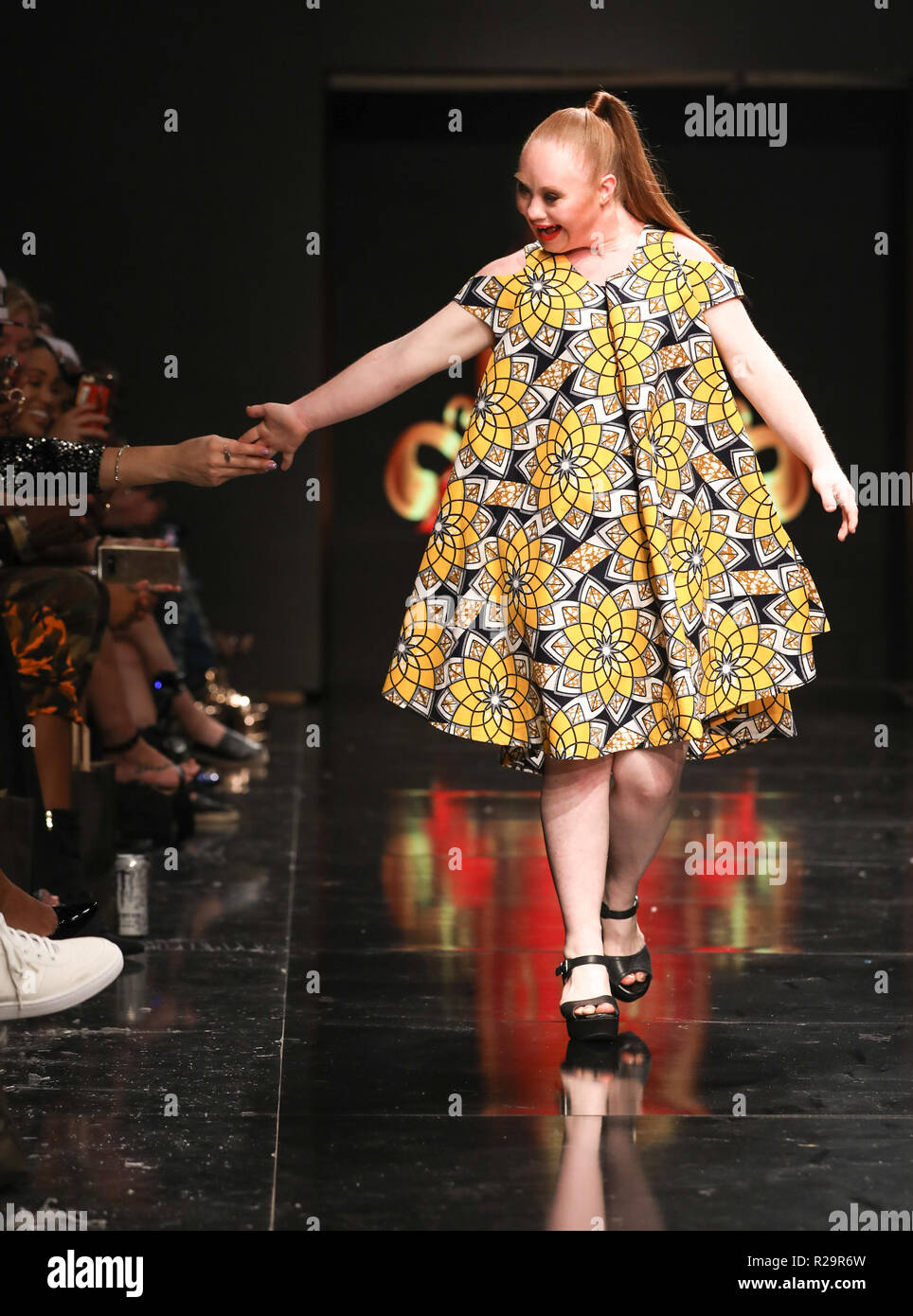 Los Angeles Fashion Week - Art Hearts Fashion - Dahil Republic of Couture -  Catwalk Featuring  Madeline Stuart Where  Los Angeles 5466849c3bba