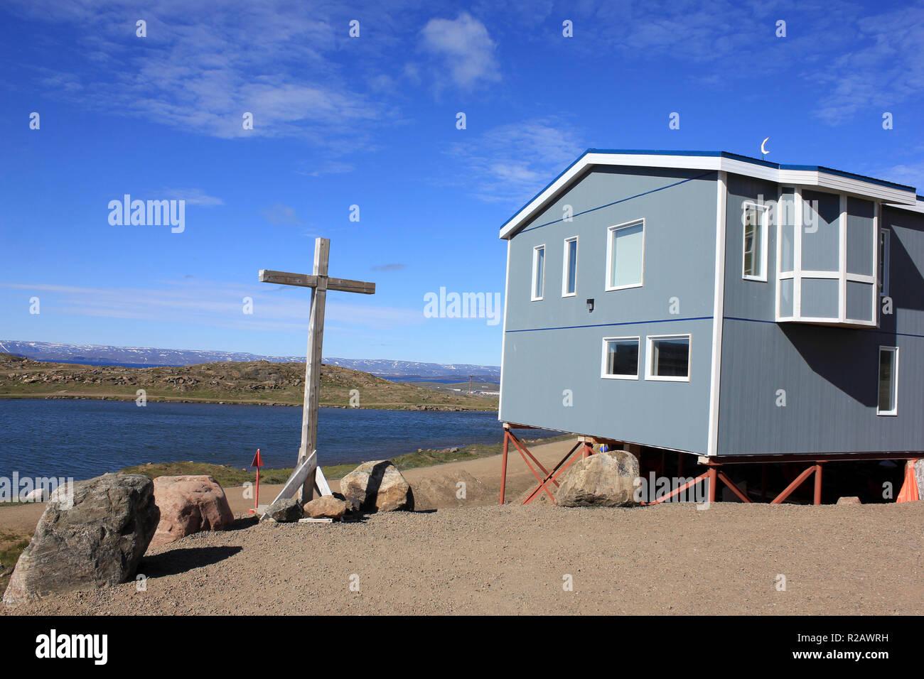 Iqaluit, Nunavut Canada - Stock Image