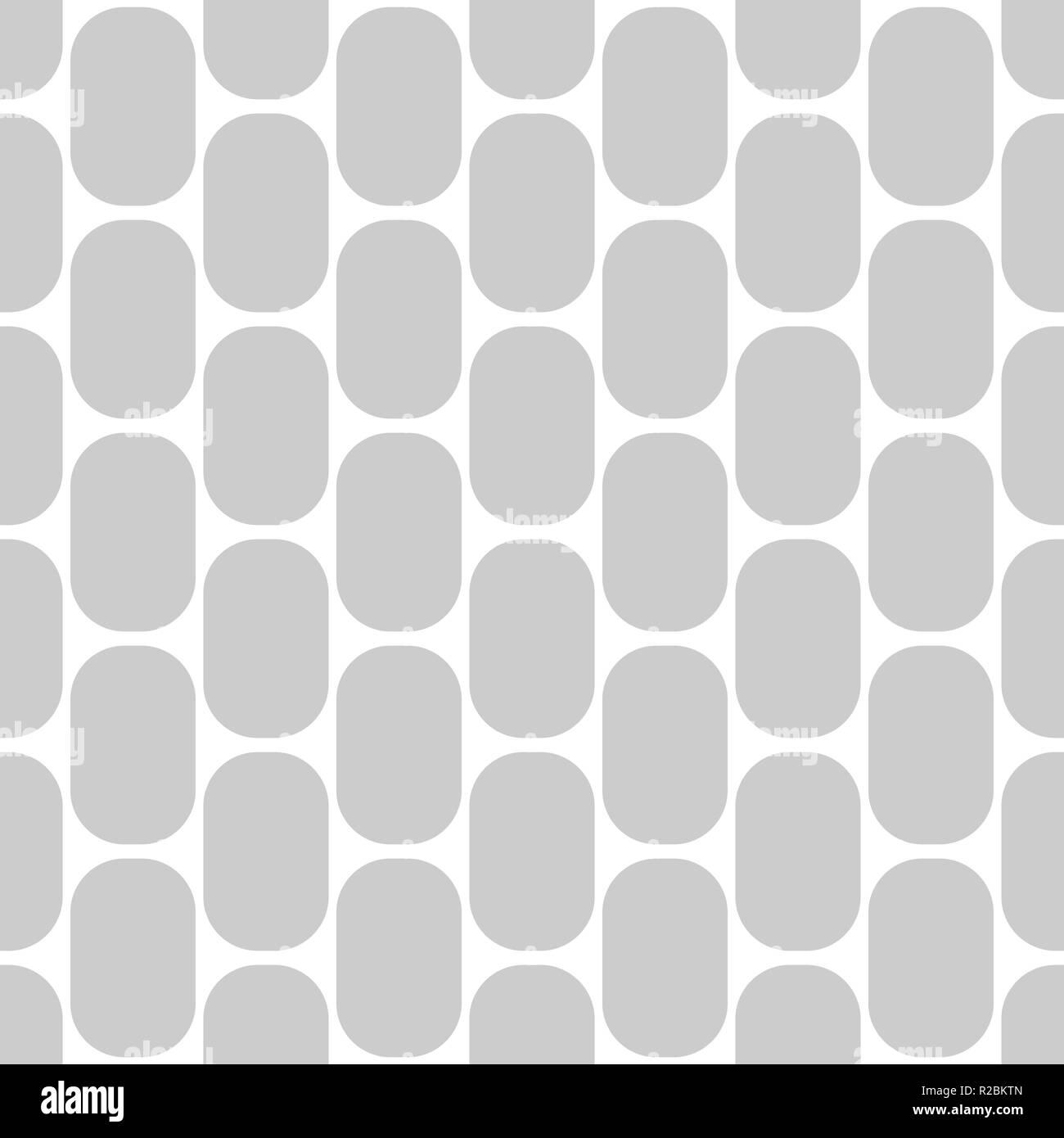 Seamless Retro Pattern Gray And White Design For Wallpaper