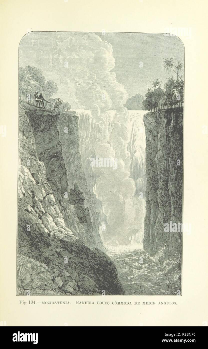 page 175 of 'Como eu atravessei Àfrica do Atlantico ao Mar Indico, viagem de Benguella á Contra-Costa . Contendo 15 mappas e facsimiles, e 133 gravuras, etc' . - Stock Image