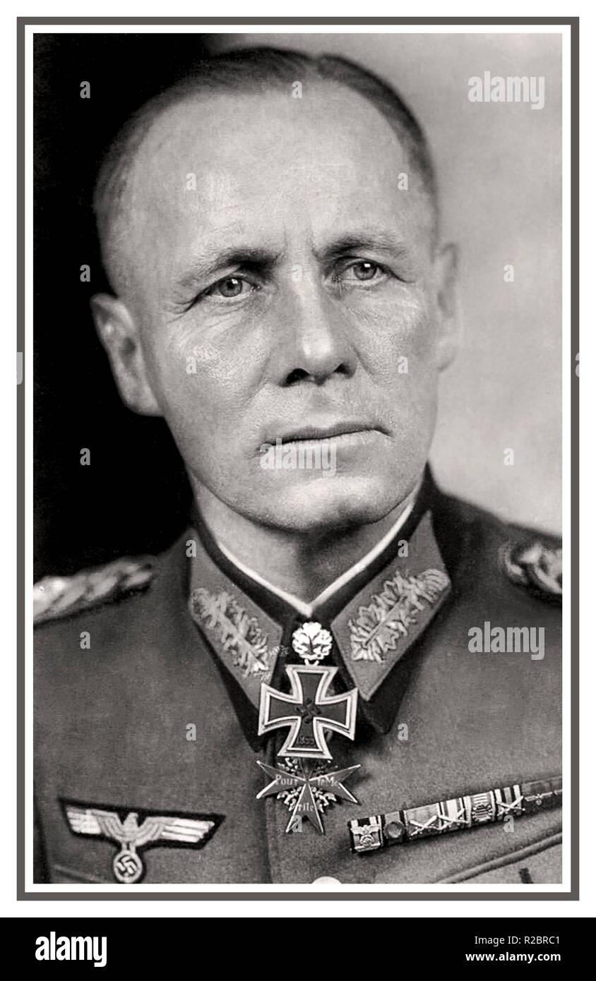 WW2 German Wehrmacht General Field Marshal Rommel Picture