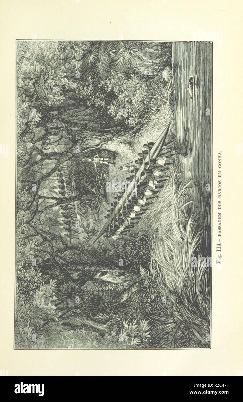 page 93 of 'Como eu atravessei Àfrica do Atlantico ao Mar Indico, viagem de Benguella á Contra-Costa . Contendo 15 mappas e facsimiles, e 133 gravuras, etc' . - Stock Image