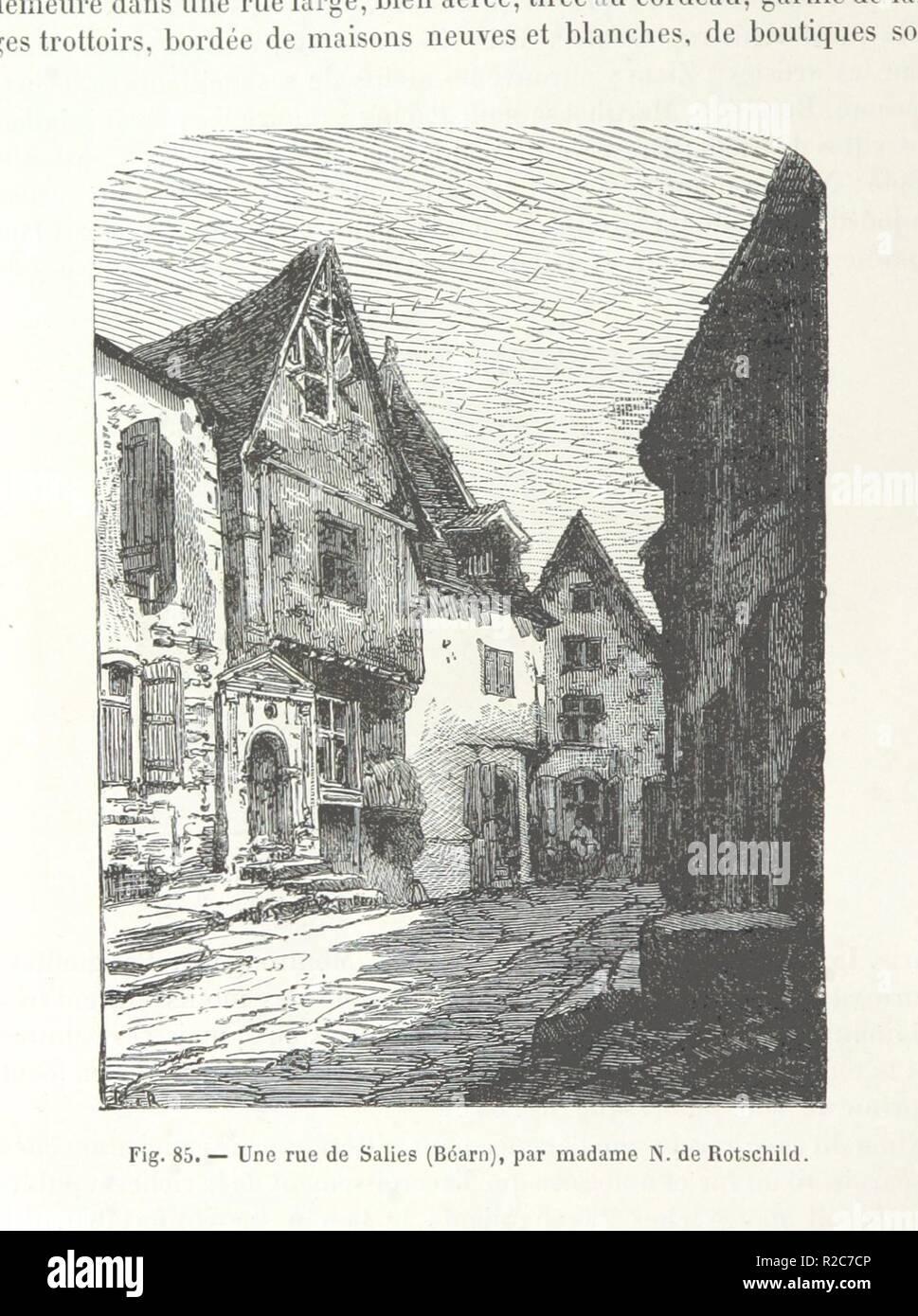 page 134 of 'Le Monde vu par les artistes. Géographie artistique. . Ouvrage orné d'environ 600 gravures et cartes' . - Stock Image