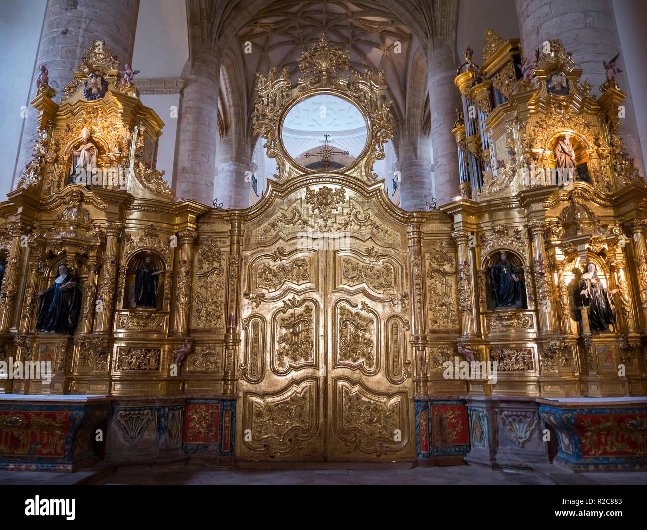 Iglesia Del Monasterio De San Millán De Yuso San Millán De La Cogolla La Rioja España Stock Photo Alamy