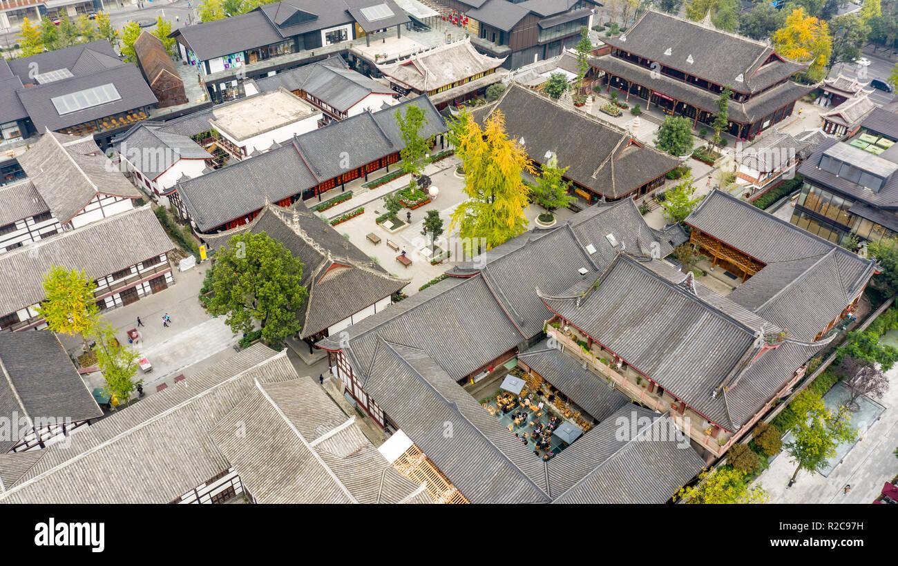 Taikoo Li Mall, Chengdu, Sichuan Province, China - Stock Image