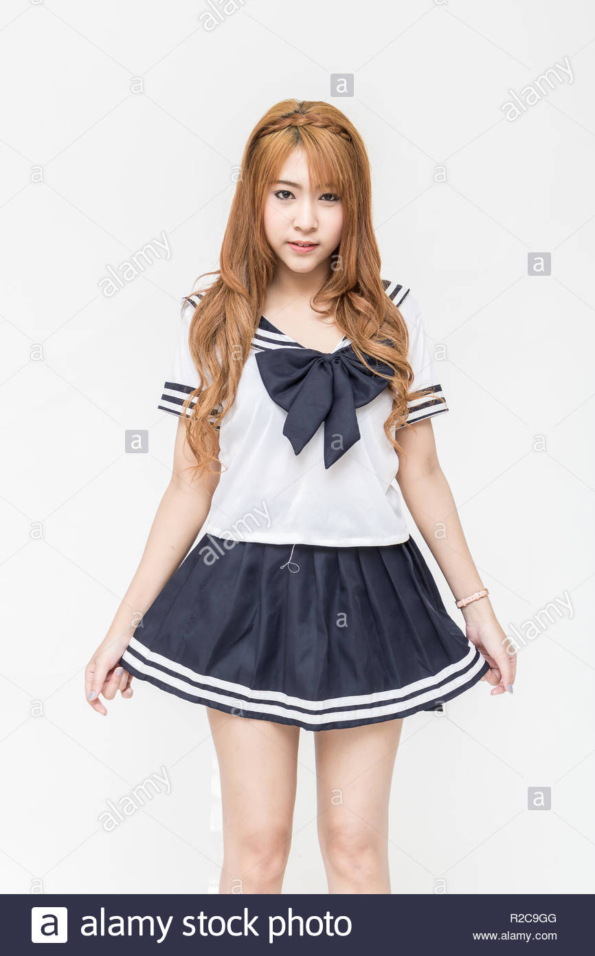 Beautiful Young Asian School Girl