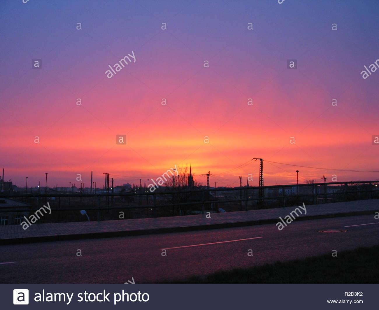 sky spectrum - Stock Image