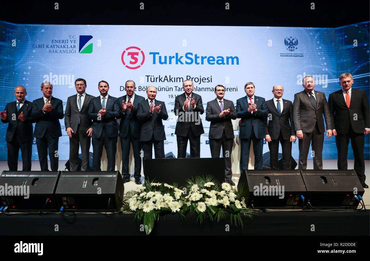 ISTANBUL, TURKEY - NOVEMBER 19, 2018: Turkey's National