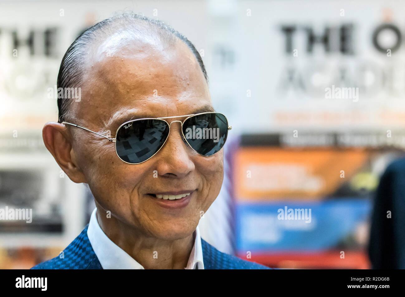 Kuala Lumpur Malaysia 19th November 2018 Obe Datuk Jimmy Choo Famous Shoe Designer Is At Kuala Lumpur Malaysia Fashion Week 2018 C Danny Chan Alamy Live News Stock Photo Alamy
