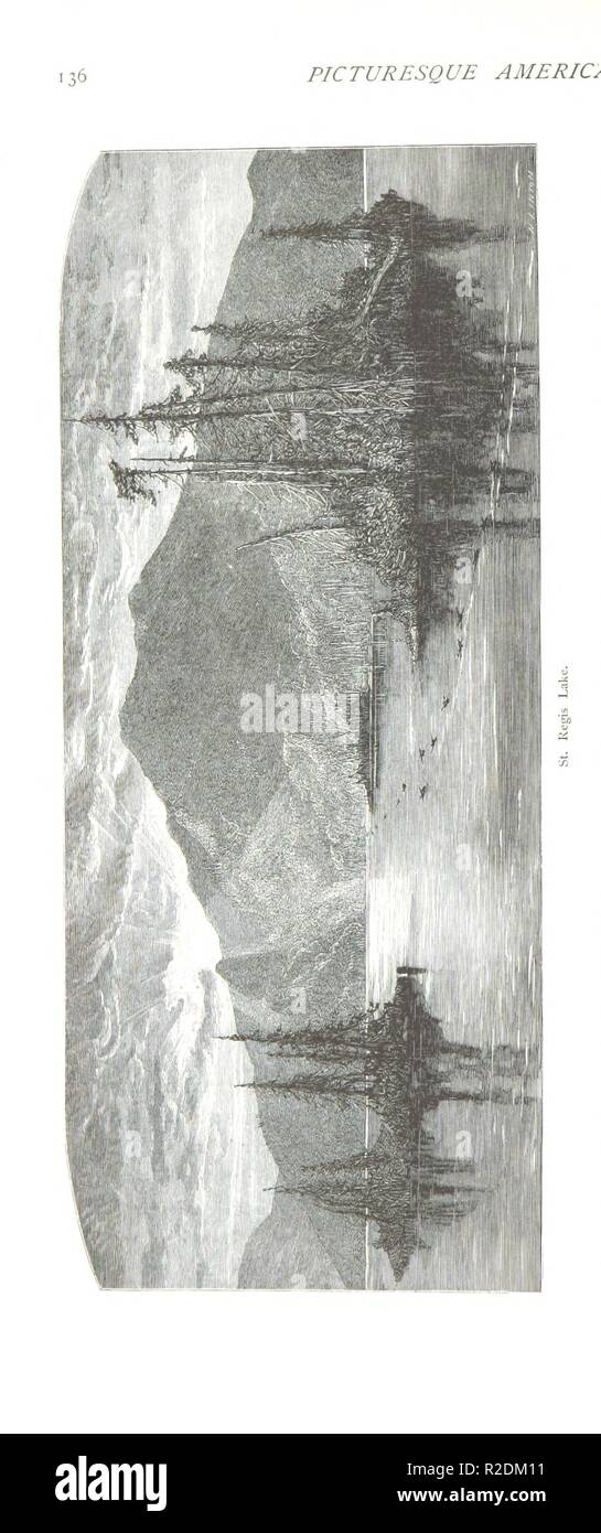 page 162 of '[Picturesque America; or, the Land we live in. A delineation by pen and pencil of the mountains, rivers, lakes . cities and other picturesque features of our country. With illustrations . by emine0083. - Stock Image