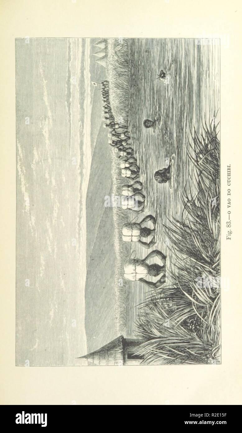 page 359 of 'Como eu atravessei Àfrica do Atlantico ao Mar Indico, viagem de Benguella á Contra-Costa . Contendo 15 mappas e facsimiles, e 133 gravuras, etc' . - Stock Image