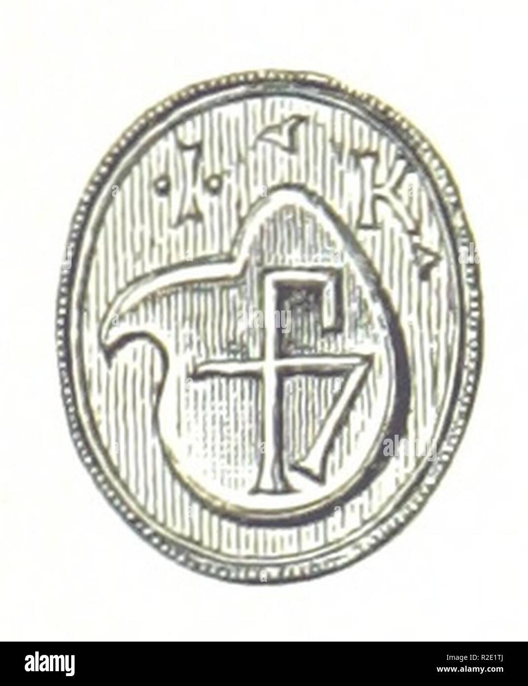 page 381 of 'Danmarks Riges Historie af J. Steenstrup, Kr. Erslev, A. Heise, V. Mollerup, J. A. Fridericia, E. Holm, A. D. Jørgensen. Historisk illustreret' . - Stock Image
