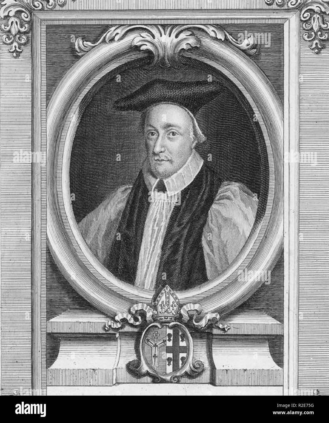 WILLIAM JUXTON (1582-1663) Archbishop of Canterbury - Stock Image