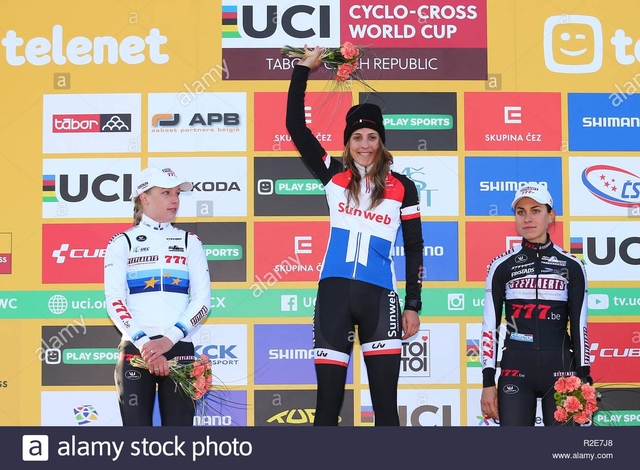 Tabor Czech Republic 17 November 2018 Worldcup Cyclecross Annemarie
