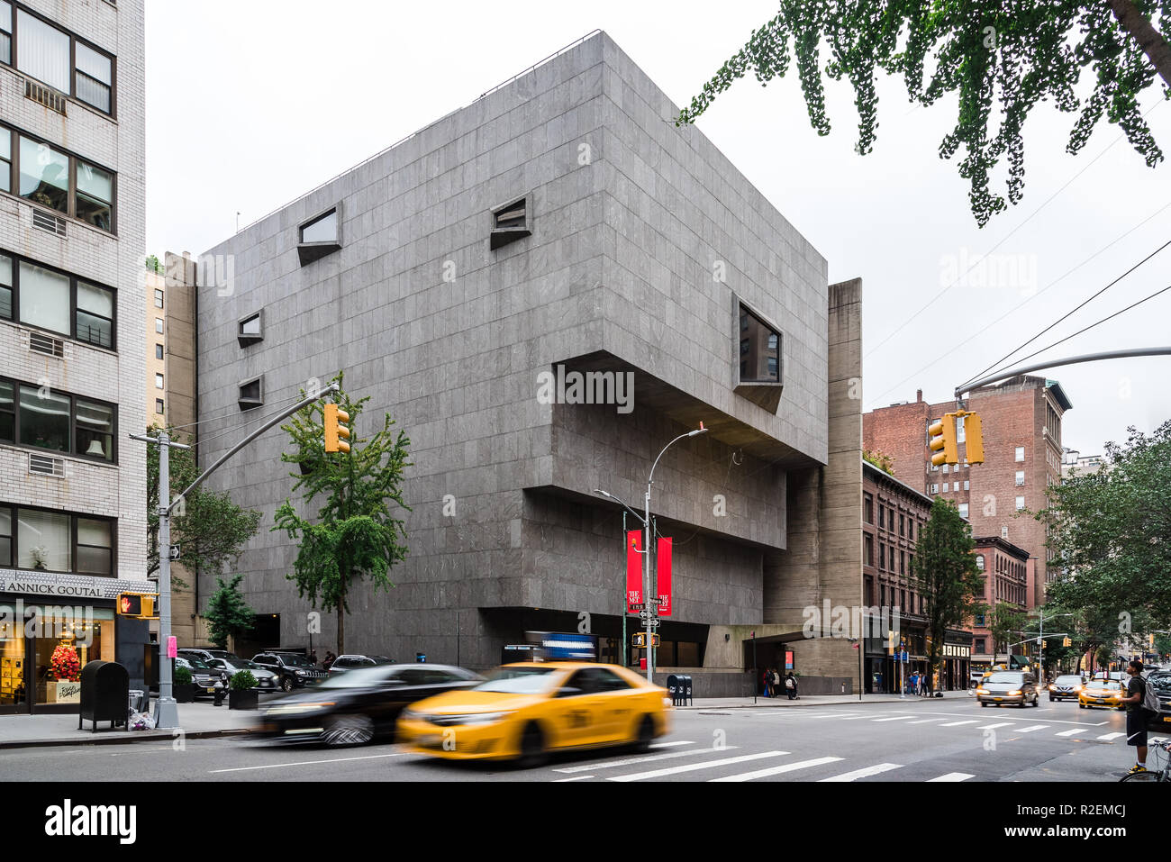 New York City, USA - June 23, 2018: The Met Breuer, exterior view. It is a museum of modern and contemporary art in Madison Avenue in the Upper East S - Stock Image