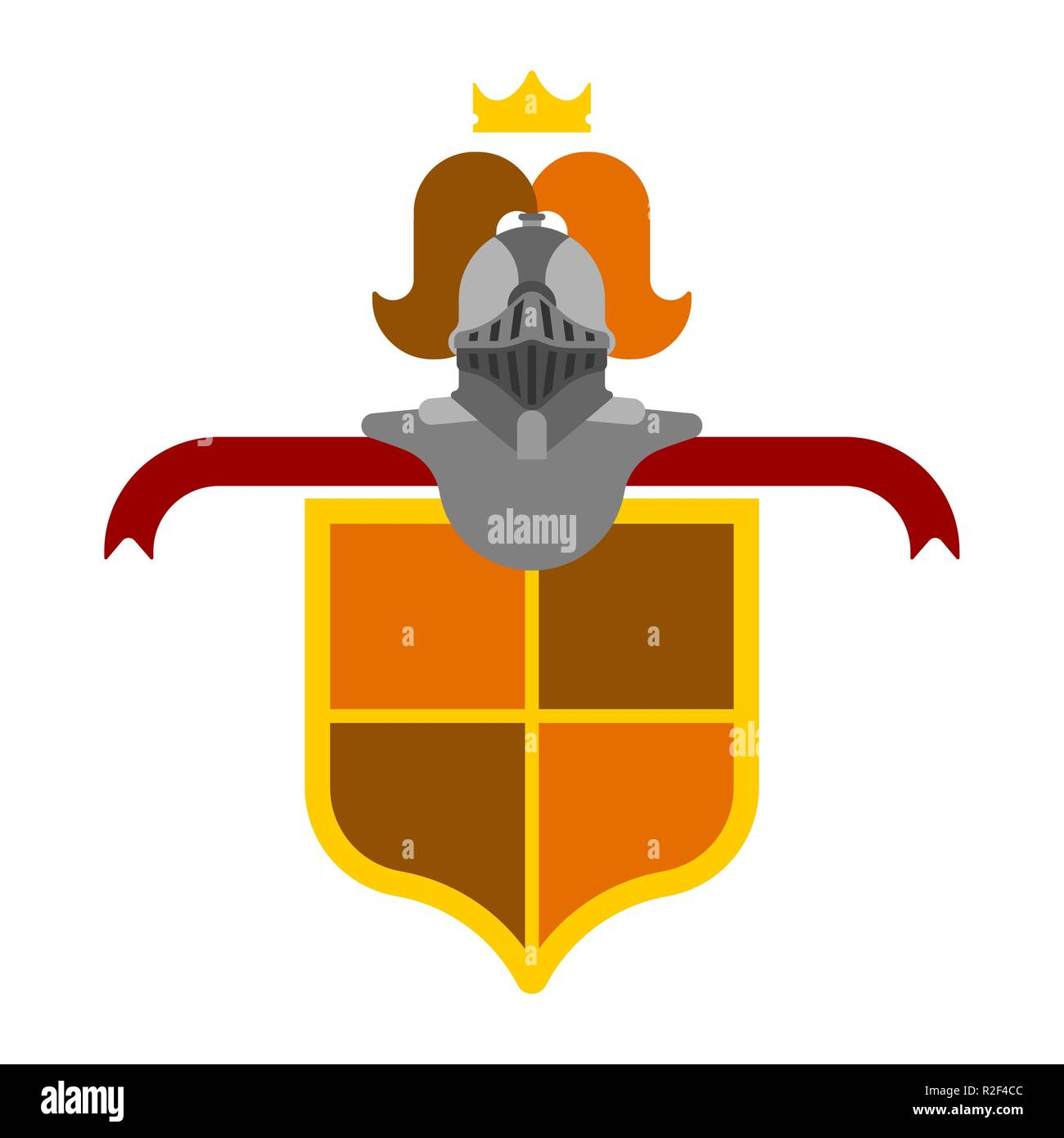knight helmet heraldic shield template heraldry design element