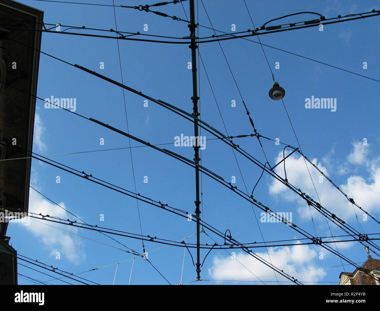catenary Stock Photo