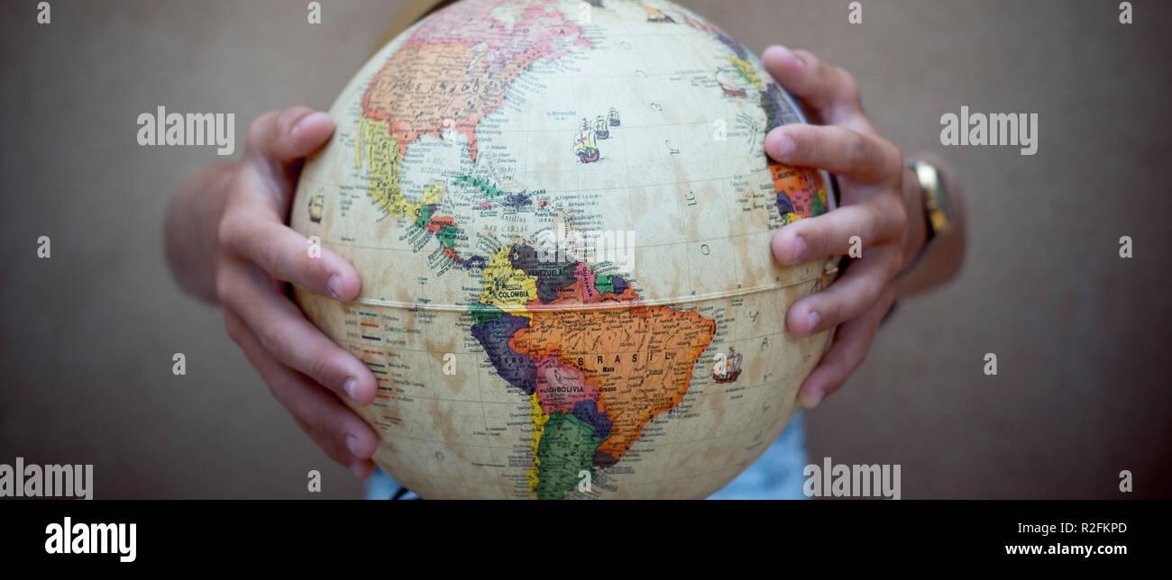 Hands Around The World Stock Photos & Hands Around The World Stock