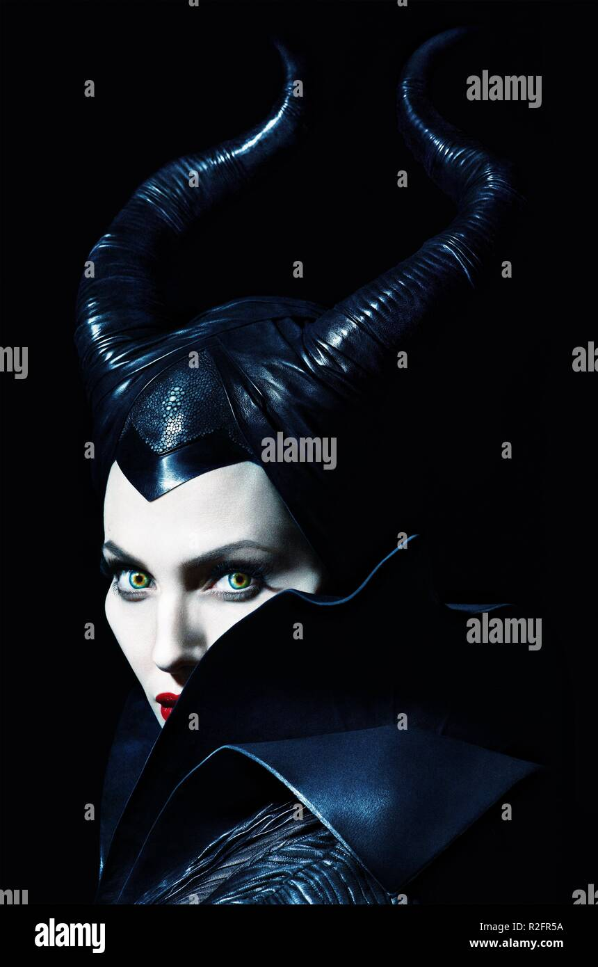 Maleficent Poster Stock Photos Maleficent Poster Stock