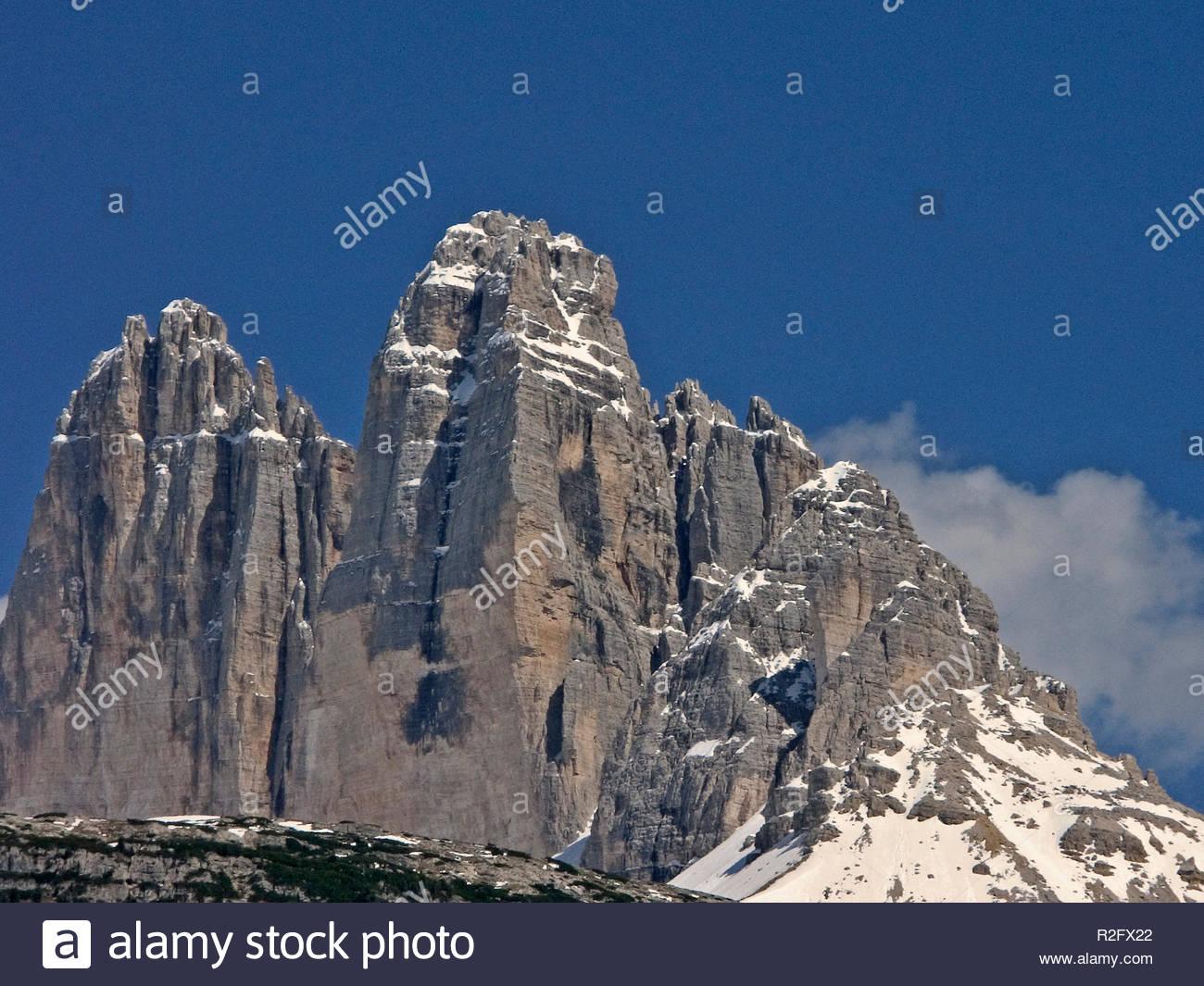 three peaks iv - Stock Image