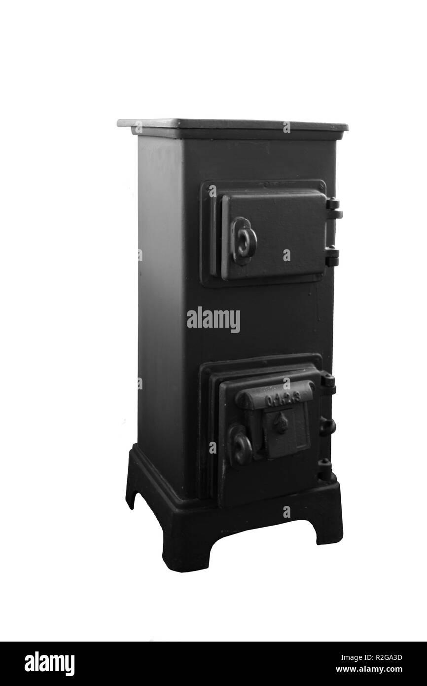 iron stove - Stock Image