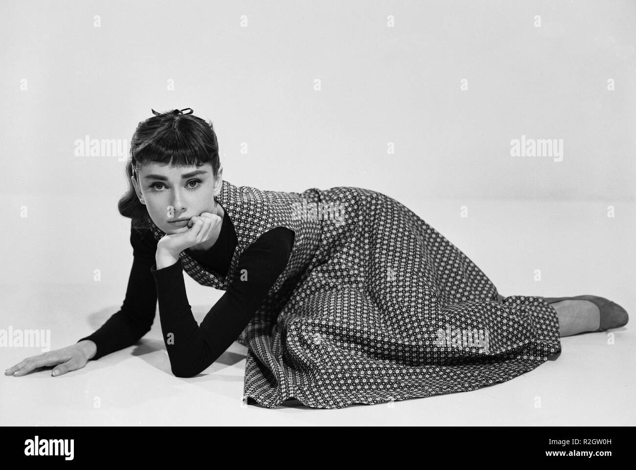 Sabrina  Year: 1954 USA Audrey Hepburn  Director: Billy Wilder - Stock Image
