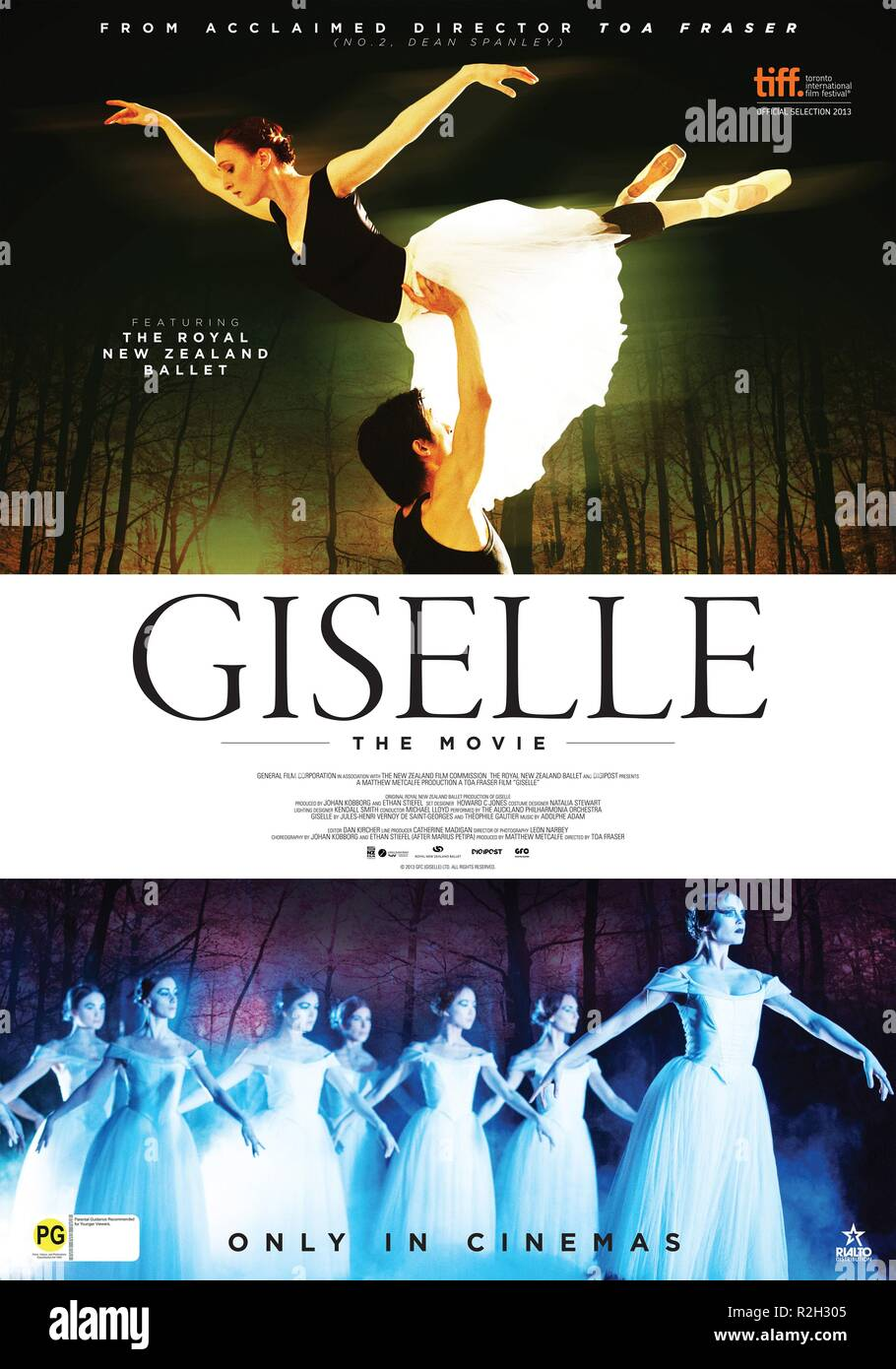 Giselle Year : 2013 New Zealand Director : Toa Fraser Movie poster (NZ) - Stock Image