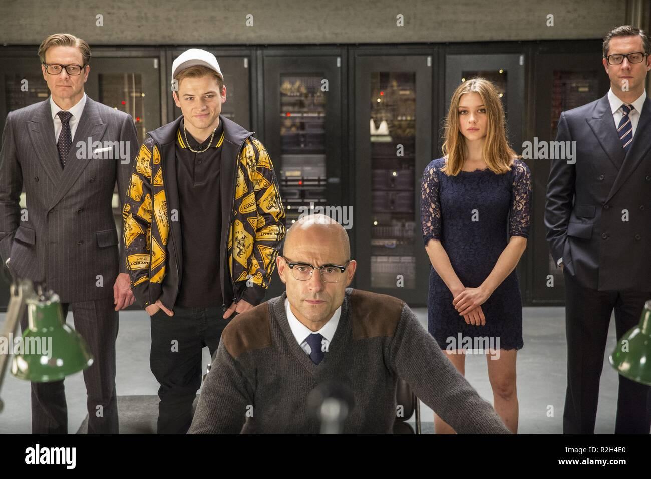 Sophie Cookson Taron Egerton Bring Kingsman The Secret: Sophie Cookson Kingsman Stock Photos & Sophie Cookson