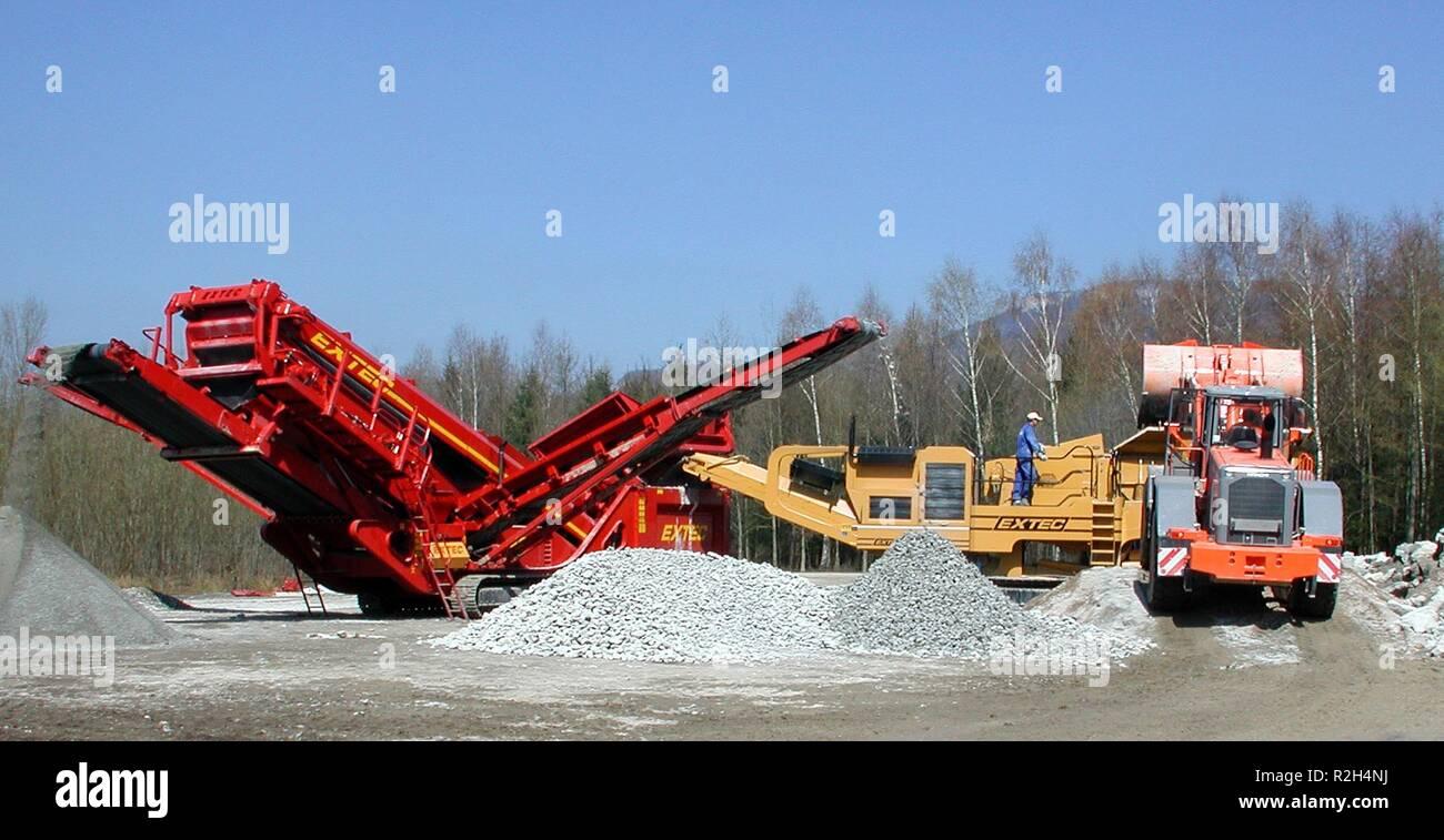 quarryman - Stock Image