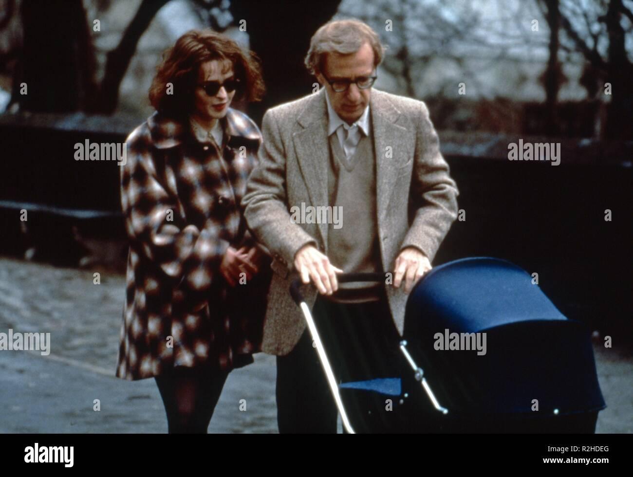 Mighty Aphrodite  Year : 1995  USA Director : Woody Allen Helena Bonham-Carter, Woody Allen - Stock Image