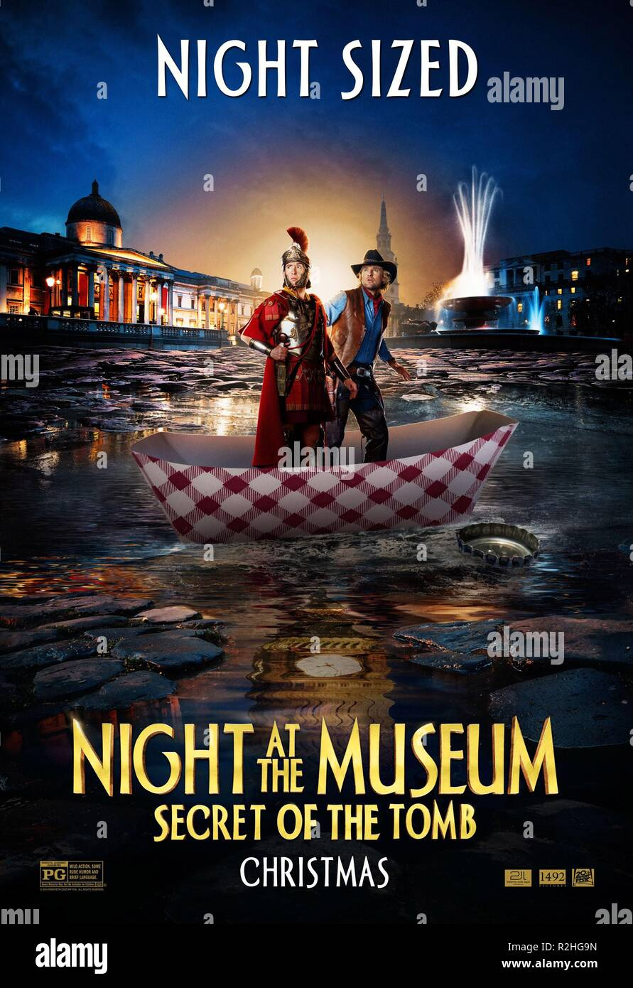 Night at the Museum: Secret of the Tomb Year : 2014 USA Director