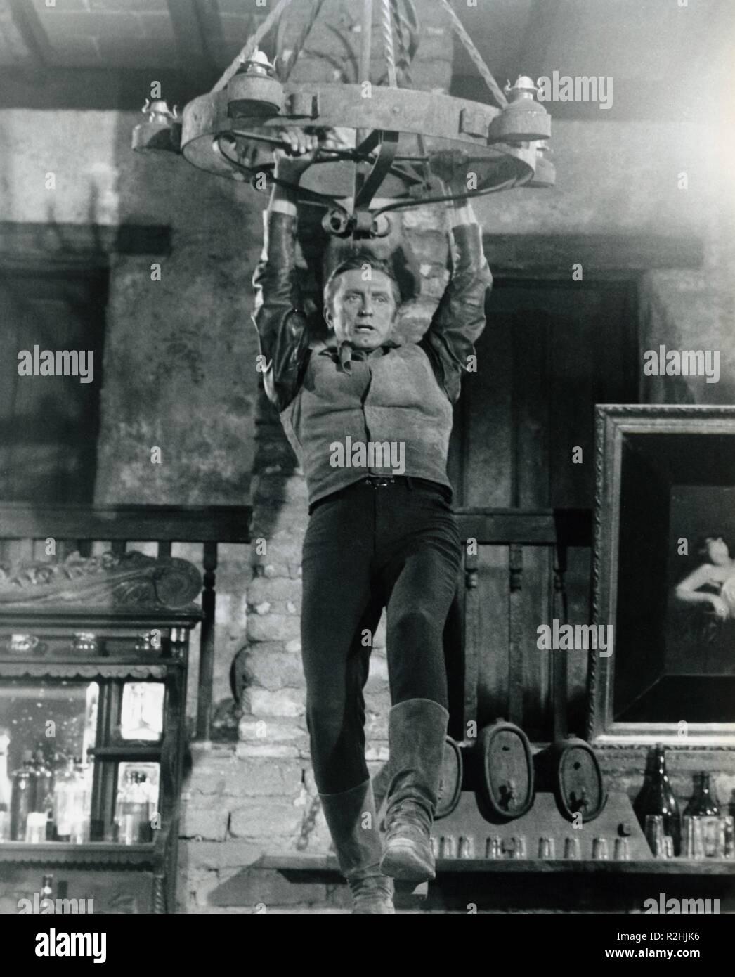 The War Wagon  Year : 1967 USA Director: Burt Kennedy Kirk Douglas - Stock Image