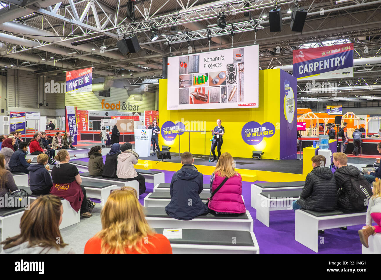 Worldskills Uk Live 2018 Formerly Skills Show Is The Uk S Largest Skills Apprenticeships And Careers Event Held At Nec Birmingham England Uk Stock Photo Alamy
