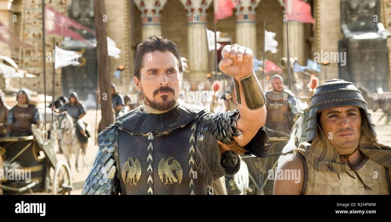 Exodus: Gods and Kings Year: 2014 USA / UK Director : Ridley Scott Christian Bale - Stock Image