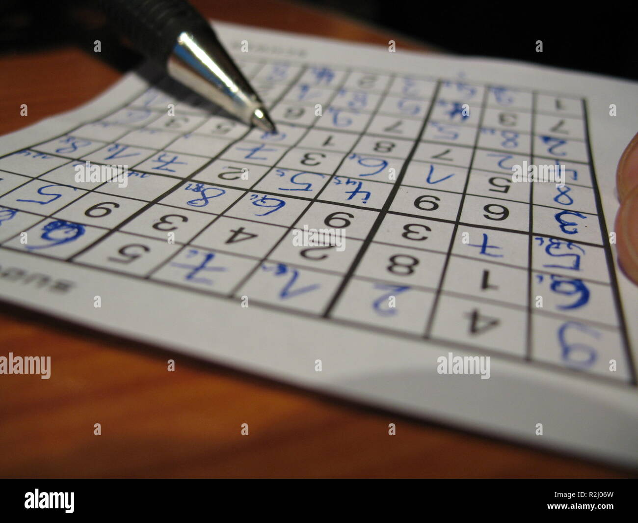 Sudoku Free Stock Photos & Sudoku Free Stock Images - Alamy