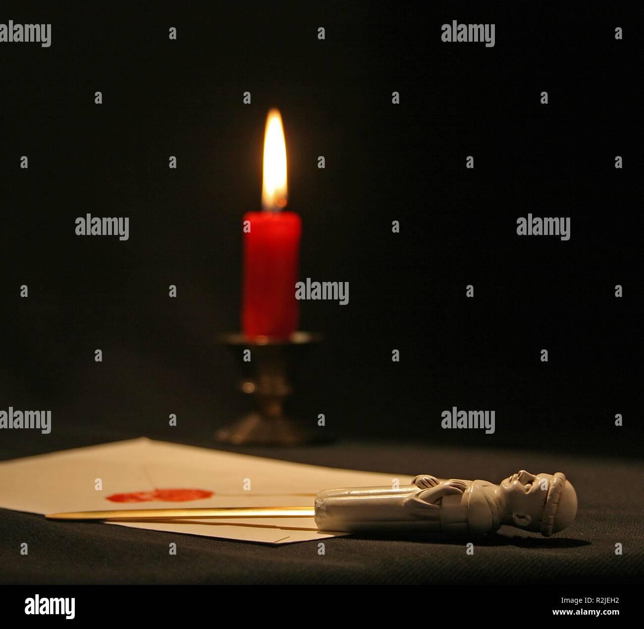 letter opener. - Stock Image