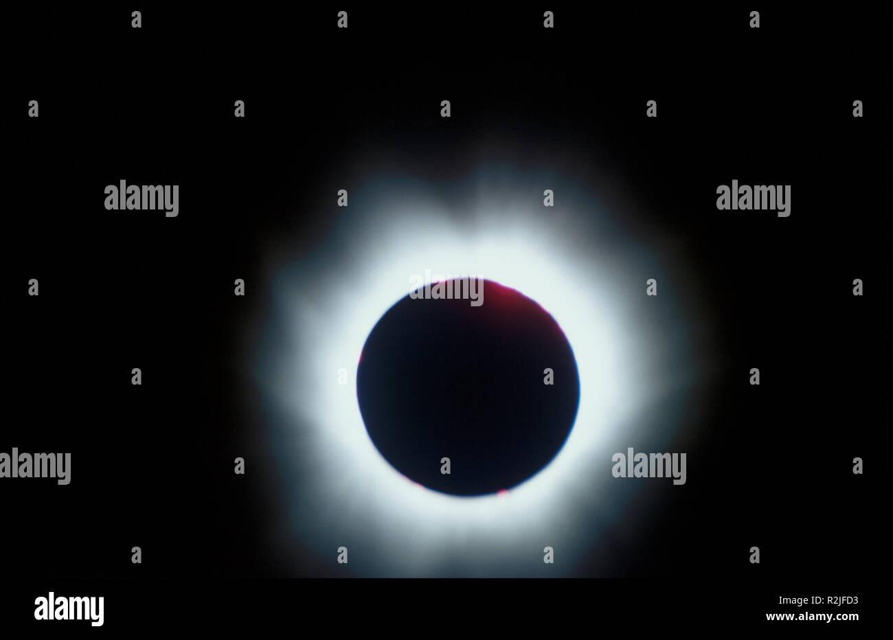 solar eclipse 1999 germany - Stock Image