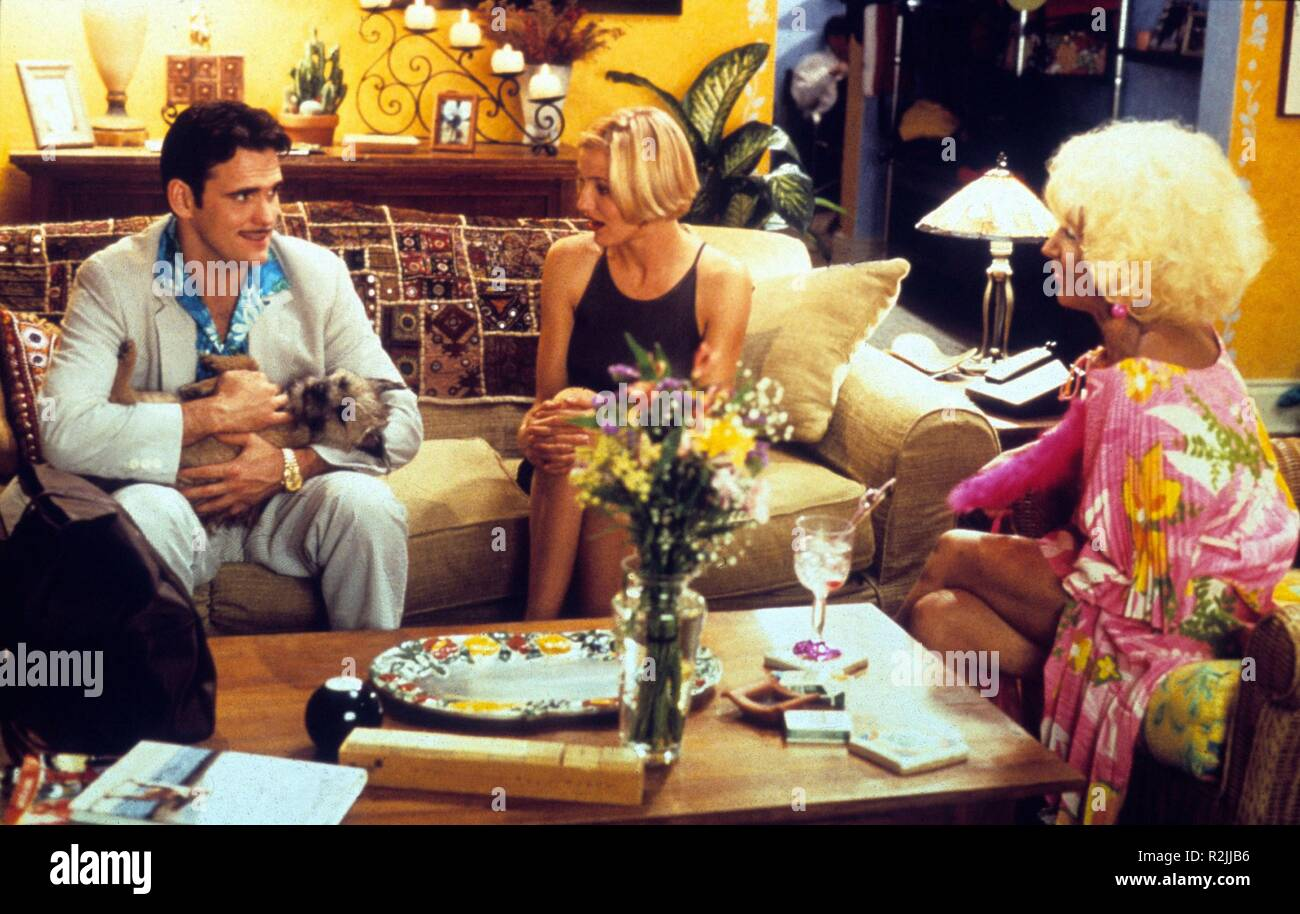 There's Something About Mary  Year : 1998  USA Director : Bobby Farrelly, Peter Farrelly Matt Dillon, Cameron Diaz, Lin Shaye - Stock Image