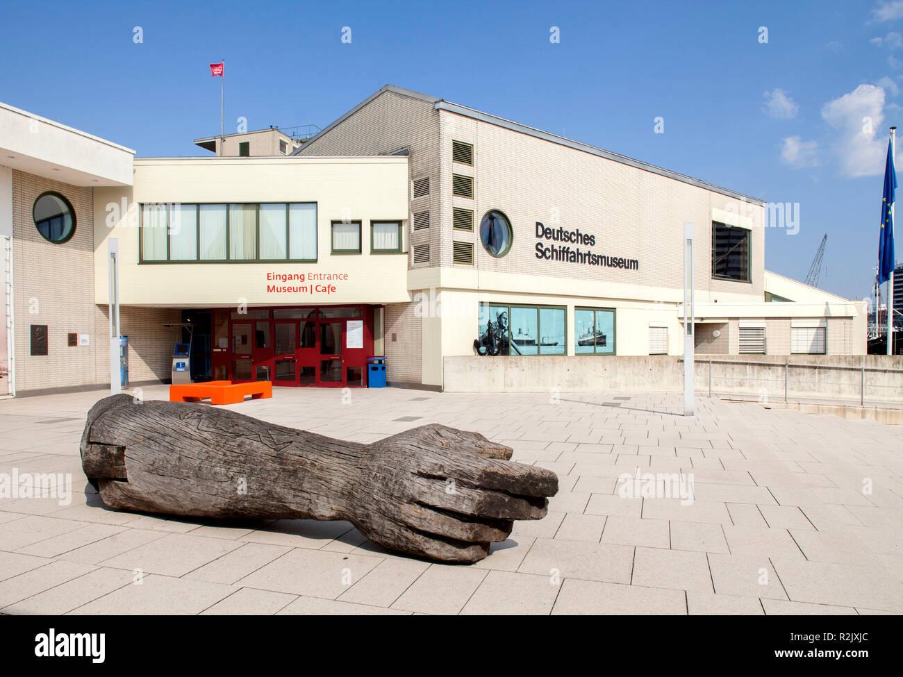 German Maritime Museum, Bremerhaven, Bremen, Germany, Europe Stock Photo