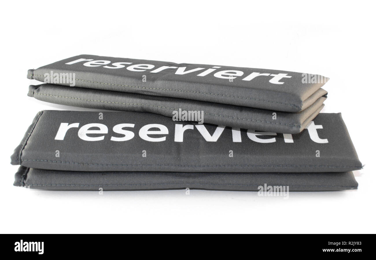 reserved - Stock Image