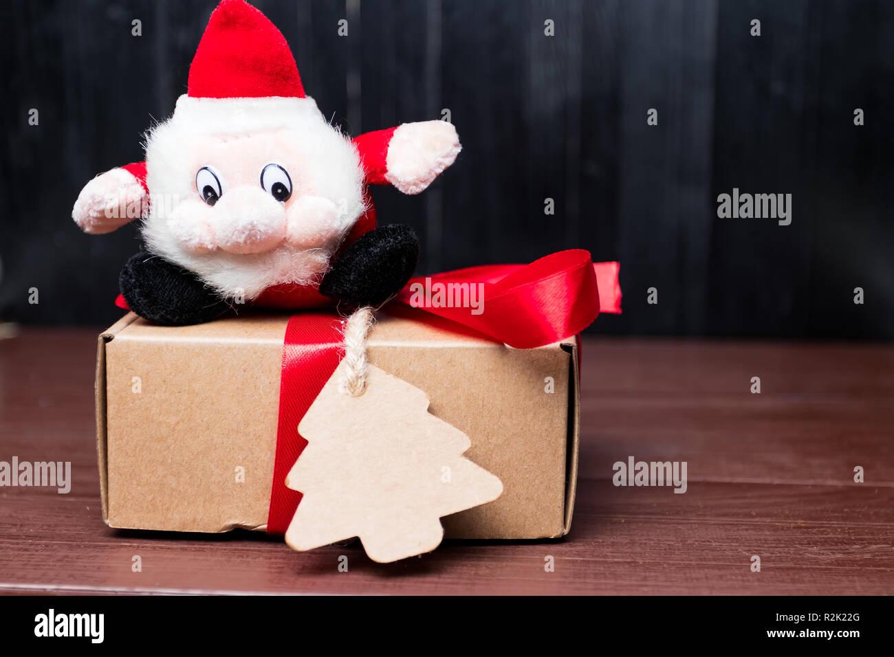 Funny Santa Claus Gift Wishes Stock Photos & Funny Santa Claus Gift ...