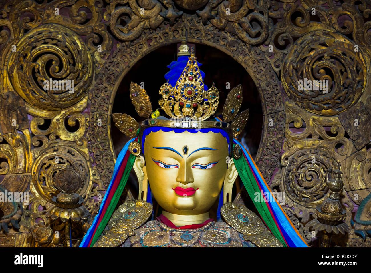 Gyantse, Pelkhor Choede Monastery - Stock Image